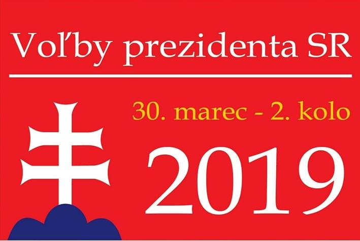 Druhé kolo volieb prezidenta Slovenskej republiky bude v sobotu 30. marca
